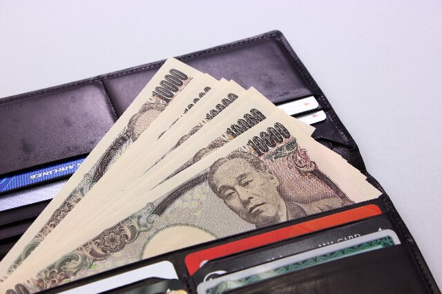 財布の中に万札6